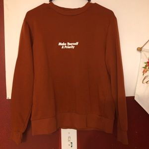 Zara small women sweatshirt
